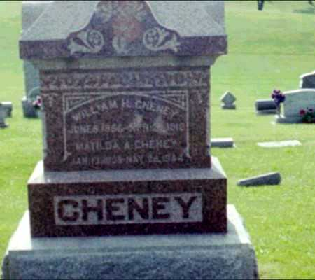 CHENEY, WILLIAM H. - Iowa County, Iowa | WILLIAM H. CHENEY