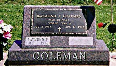 COLEMAN, RAYMOND - Iowa County, Iowa | RAYMOND COLEMAN