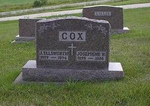 COX, J. ELLSWORTH - Iowa County, Iowa | J. ELLSWORTH COX