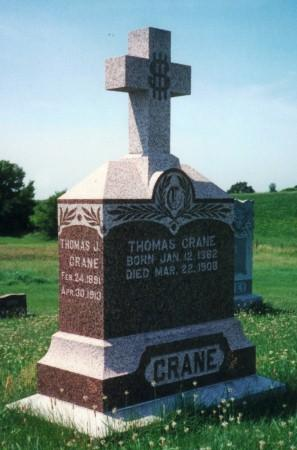 CRANE, MARY B. - Iowa County, Iowa | MARY B. CRANE