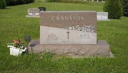 CRANSTON, BETTY J. - Iowa County, Iowa | BETTY J. CRANSTON