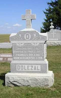 DOLEZAL, FRANCES - Iowa County, Iowa | FRANCES DOLEZAL