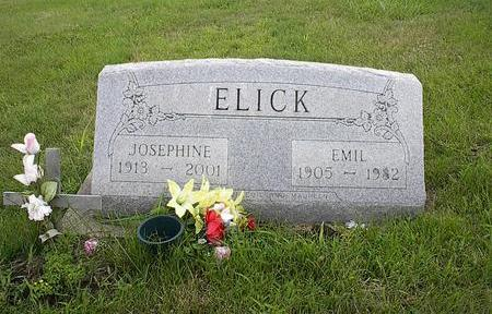 ELICK, JOSEPHINE - Iowa County, Iowa | JOSEPHINE ELICK