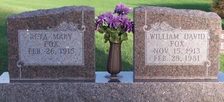 FOX, WILLIAM DAVID - Iowa County, Iowa | WILLIAM DAVID FOX