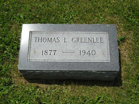 GREENLEE, THOMAS L. - Iowa County, Iowa | THOMAS L. GREENLEE