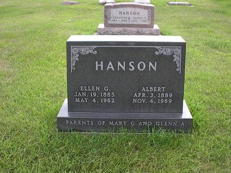 HANSON, ELLEN G. - Iowa County, Iowa | ELLEN G. HANSON