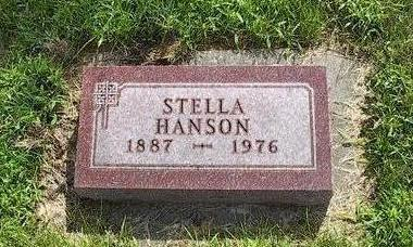 HANSON, STELLA - Iowa County, Iowa | STELLA HANSON