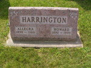 HARRINGTON, HOWARD - Iowa County, Iowa | HOWARD HARRINGTON