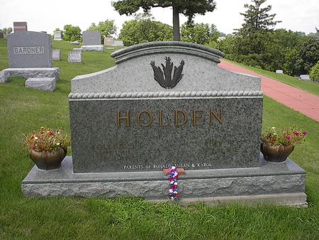 HOLDEN, RUBY F. - Iowa County, Iowa | RUBY F. HOLDEN