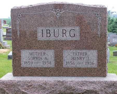 IBURG, SOPHIA A. - Iowa County, Iowa | SOPHIA A. IBURG