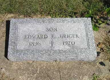 JIRICEK, EDWARD E - Iowa County, Iowa | EDWARD E JIRICEK