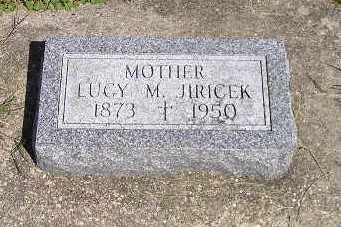 JIRICEK, LUCY M - Iowa County, Iowa | LUCY M JIRICEK