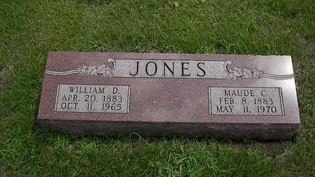 JONES, MAUDE C. - Iowa County, Iowa | MAUDE C. JONES