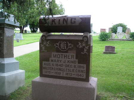 KING, WALTER G. - Iowa County, Iowa | WALTER G. KING