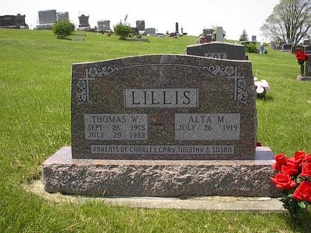LILLIS, ALTA - Iowa County, Iowa | ALTA LILLIS