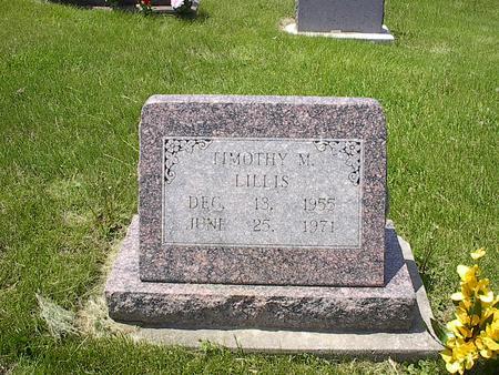 LILLIS, TIMOTHY - Iowa County, Iowa | TIMOTHY LILLIS