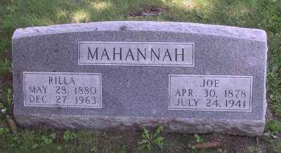 MASON MAHANNAH, RILLA - Iowa County, Iowa | RILLA MASON MAHANNAH