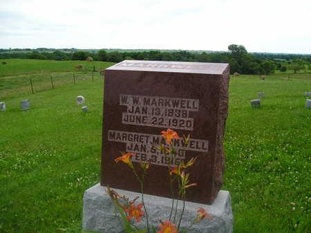 MARKWELL, WAYNE WALLACE - Iowa County, Iowa | WAYNE WALLACE MARKWELL