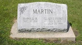 MARTIN, HAROLD B. - Iowa County, Iowa | HAROLD B. MARTIN