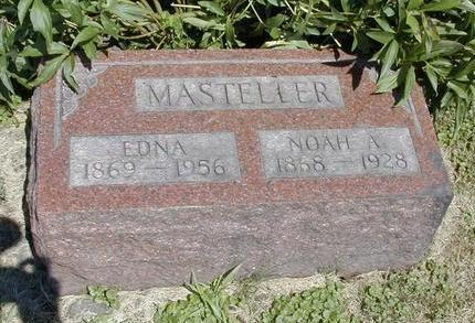 WELCH MASTELLER, EDNA - Iowa County, Iowa | EDNA WELCH MASTELLER
