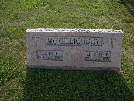 MCGILLICUDDY, MILDRED E. - Iowa County, Iowa | MILDRED E. MCGILLICUDDY