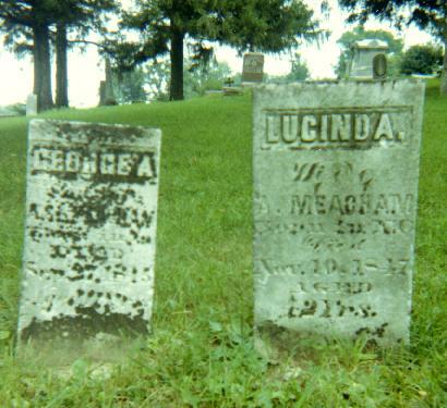 MEACHAM, LUCINDA - Iowa County, Iowa | LUCINDA MEACHAM