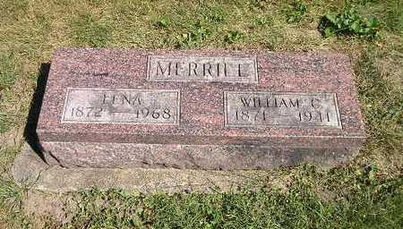 MERRILL, WILLIAM C - Iowa County, Iowa | WILLIAM C MERRILL
