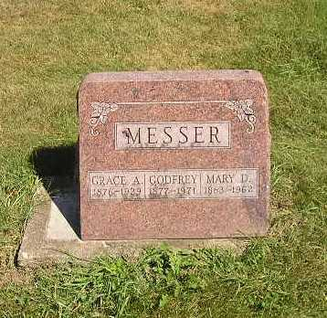 MESSER, GRACE A - Iowa County, Iowa | GRACE A MESSER