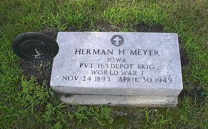 MEYER, HERMAN H. - Iowa County, Iowa | HERMAN H. MEYER