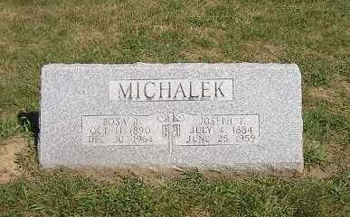MICHALEK, JOSEPH - Iowa County, Iowa | JOSEPH MICHALEK
