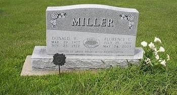 MILLER, DR. DONALD F. - Iowa County, Iowa | DR. DONALD F. MILLER