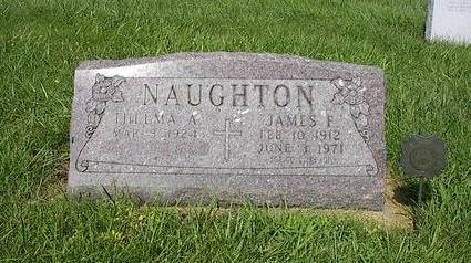 NAUGHTON, JAMES F. - Iowa County, Iowa | JAMES F. NAUGHTON