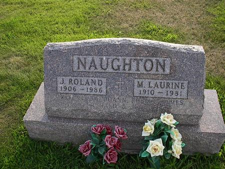 NAUGHTON, M. LAURINE - Iowa County, Iowa | M. LAURINE NAUGHTON