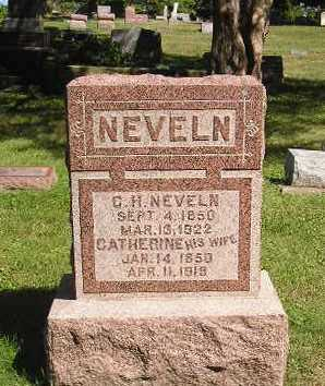 NEVELN, CATHERINE - Iowa County, Iowa | CATHERINE NEVELN