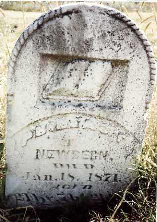 NEWBERN, PHINEAS F. - Iowa County, Iowa | PHINEAS F. NEWBERN