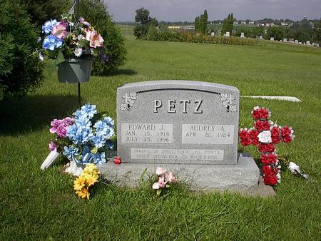 PETZ, AUDREY - Iowa County, Iowa | AUDREY PETZ