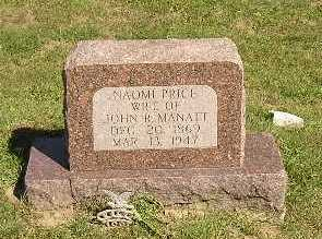 PRICE, NAOMI - Iowa County, Iowa   NAOMI PRICE