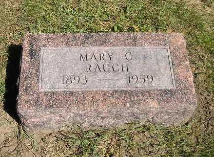 RAUCH, MARY C - Iowa County, Iowa | MARY C RAUCH