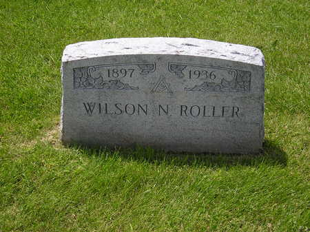 ROLLER, WILSON NAPOLEON - Iowa County, Iowa | WILSON NAPOLEON ROLLER