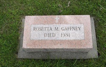 GAFFNEY, ROSETTA - Iowa County, Iowa | ROSETTA GAFFNEY