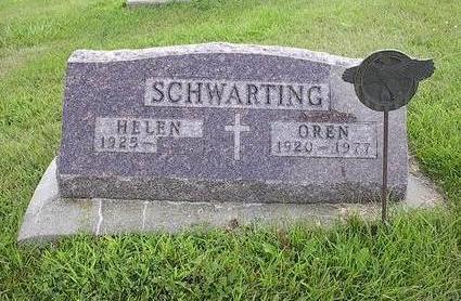 SCHWARTING, HELEN - Iowa County, Iowa | HELEN SCHWARTING