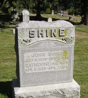 SHINE, CATHERINE - Iowa County, Iowa | CATHERINE SHINE