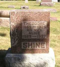 SHINE, ALICE - Iowa County, Iowa | ALICE SHINE