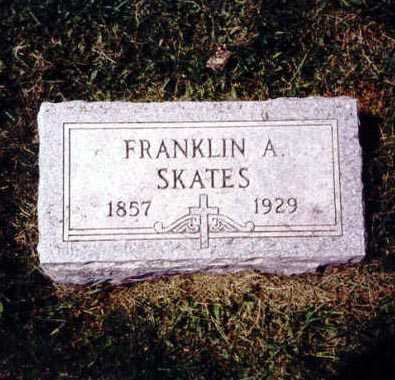 SKATES, FRANKLIN A. - Iowa County, Iowa | FRANKLIN A. SKATES