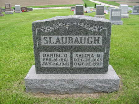 SLAUBAUGH, DANIEL O. - Iowa County, Iowa | DANIEL O. SLAUBAUGH