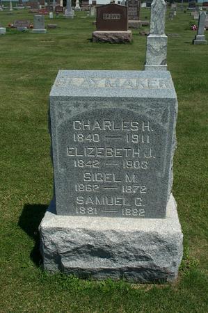 SLAYMAKER, CHARLES H. - Iowa County, Iowa | CHARLES H. SLAYMAKER