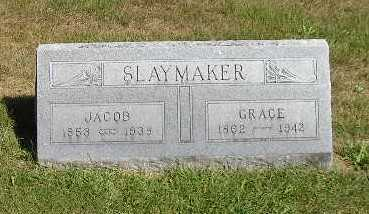 SLAYMAKER, GRACE - Iowa County, Iowa | GRACE SLAYMAKER