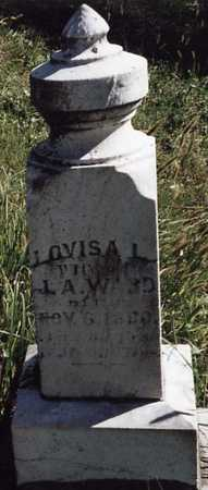 WARD, LOUISA L. - Iowa County, Iowa | LOUISA L. WARD