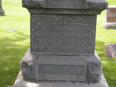 WHITMORE, SARAH - Iowa County, Iowa | SARAH WHITMORE