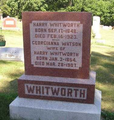 WHITWORTH, HARRY - Iowa County, Iowa | HARRY WHITWORTH